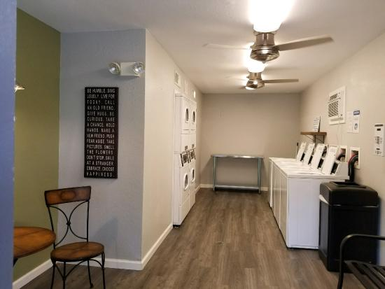 Two On-Site 24 hour Laundry Facilities - Breakers Apartments