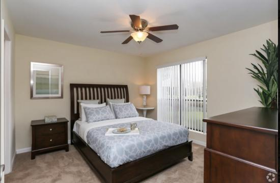 Model Bedroom Cape Cod, 1BR,1BA_650 SF - Breakers Apartments